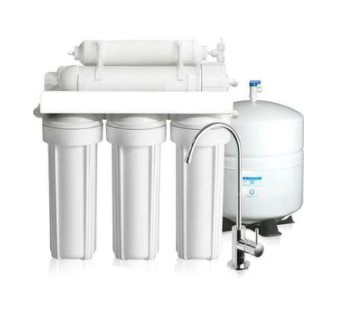 Commercial Solutions industrial Solutions Black Single Resin Tank Reverse Osmosis 6 stage